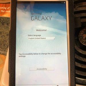 Samsung Galaxy Tab 3 (7-Inch, White) 8 GB EUC case
